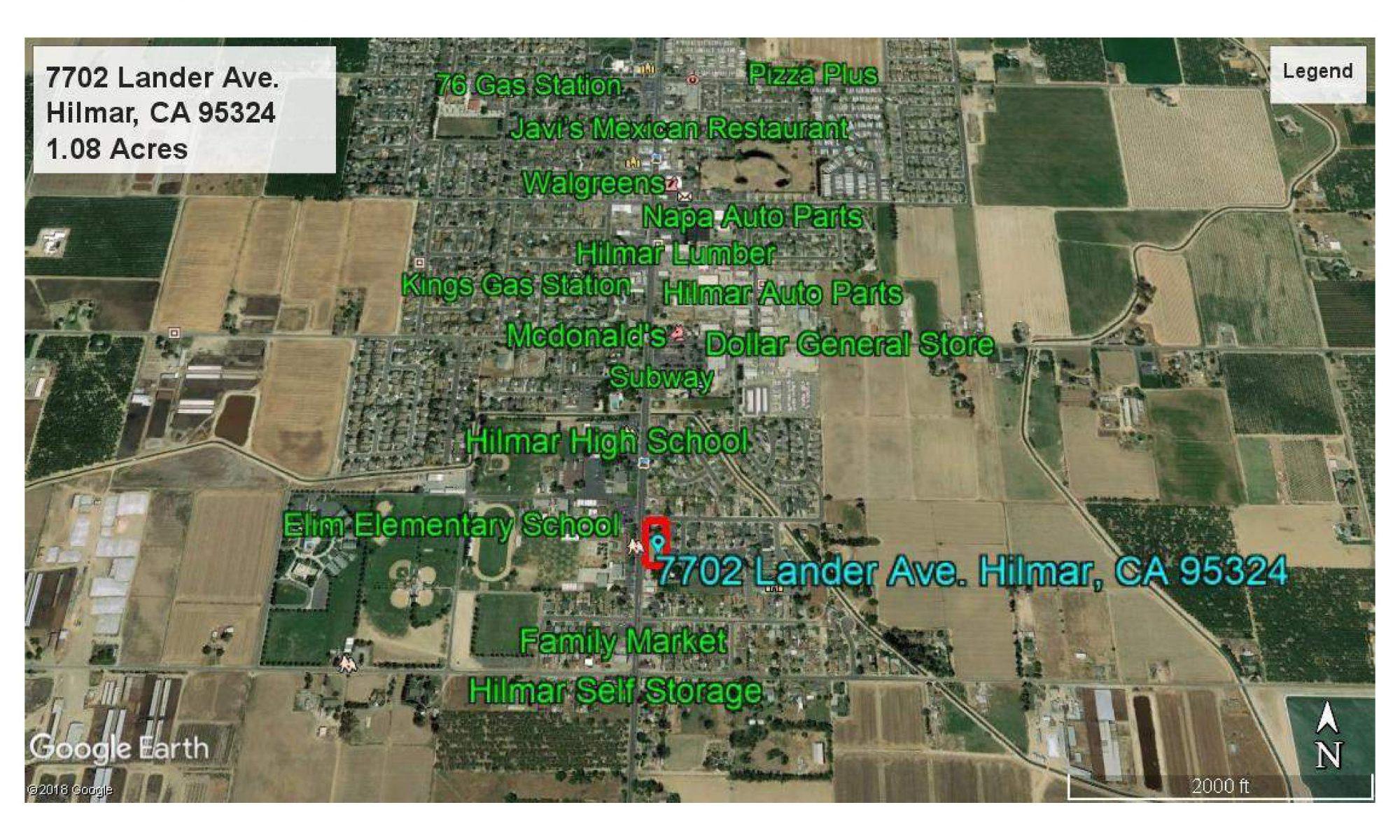Charmant 7702 LANDER AVE Hilmar Land For Sale, 1ac, 2 Parcels U2013 Clarence Oliveira,  REALTOR